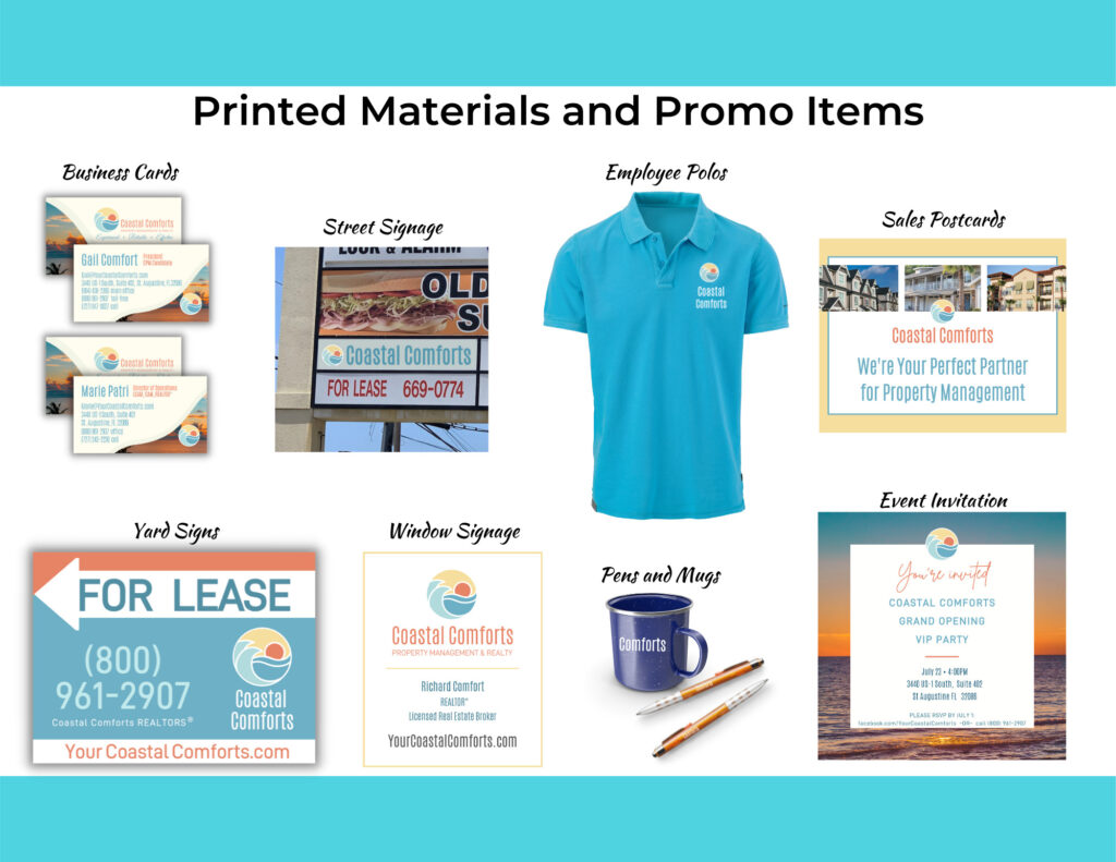 Printed Materials and Promotional Items
